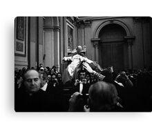 Il Papa, Pope Paul VI Canvas Print