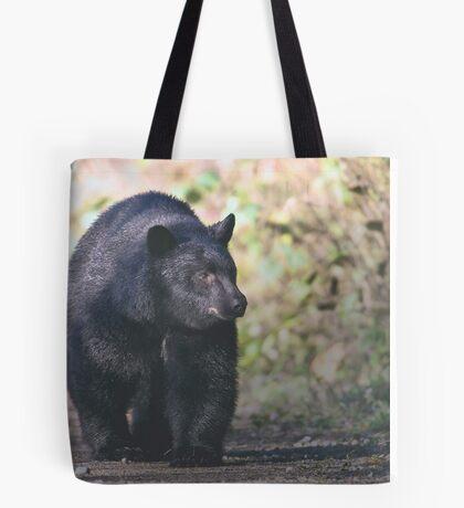 Young Adult Black Bear Tote Bag