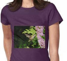 Hummingbird And Buddleia Womens Fitted T-Shirt