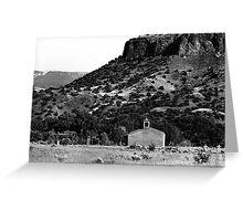 Church at Black Mesa, NM Greeting Card
