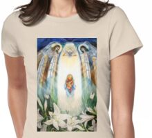 Maria and Angels Womens Fitted T-Shirt