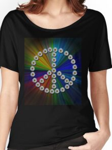 Flower Power Women's Relaxed Fit T-Shirt