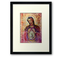 The Birth-Giving Helper Framed Print