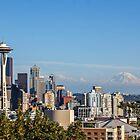Seattle Skyline by Jonicool