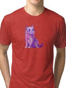 Skull Kitten Tri-blend T-Shirt