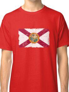 Florida Flag - Vintage Look Classic T-Shirt