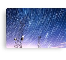 Cell Phone Tower Star Communications  Canvas Print