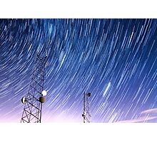 Cell Phone Tower Star Communications  Photographic Print