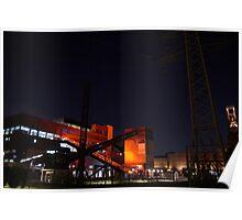 Coal Mine Zollverein Essen Poster