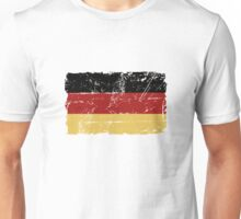 German Flag - Vintage Look Unisex T-Shirt