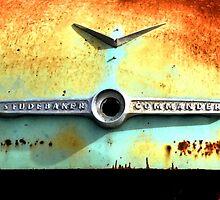 Commander ~ Studebaker ( BoneYard Series )  by Carla Jensen