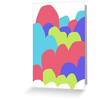 Pastel Clouds #3 Greeting Card
