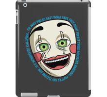 Why You So Sad? iPad Case/Skin