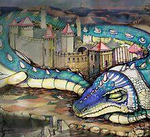 Dragon by Irina Kolpaschikova