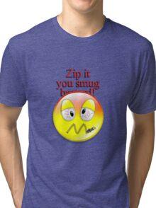 Zip it Tri-blend T-Shirt