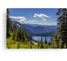 Dewey Lake Mt Rainier National Park Canvas Print