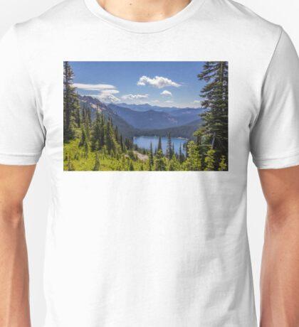 Dewey Lake Mt Rainier National Park Unisex T-Shirt