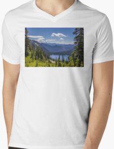 Dewey Lake Mt Rainier National Park Mens V-Neck T-Shirt
