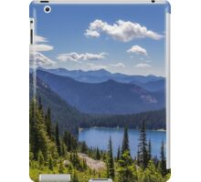 Dewey Lake Mt Rainier National Park iPad Case/Skin