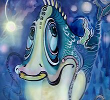 fish by Irina Kolpaschikova