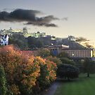 Dusk in Edinburgh by Peter Lusby Taylor