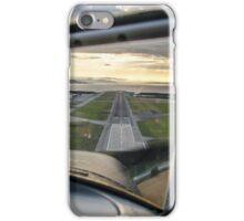 Landing at Værnes, Trondheim iPhone Case/Skin