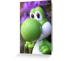 Peaceful Yoshi  Greeting Card
