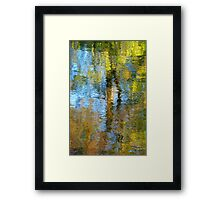 watery  impressions  Framed Print