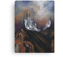Peaks of two Eternities Canvas Print