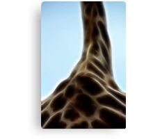 Her Highness - The Giraffe Canvas Print