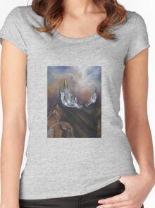 Peaks of two Eternities Women's Fitted Scoop T-Shirt