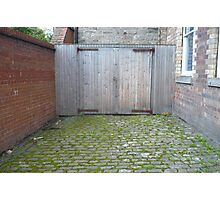 Leith: Two Wooden Doors Photographic Print
