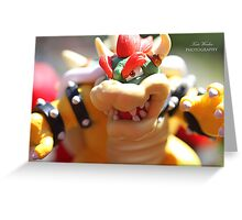 Bowser - Photography Greeting Card