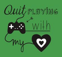BSB - Quit playing games with my heart... Baby Tee