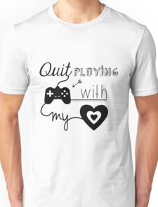 BSB - Quit playing games with my heart... Unisex T-Shirt