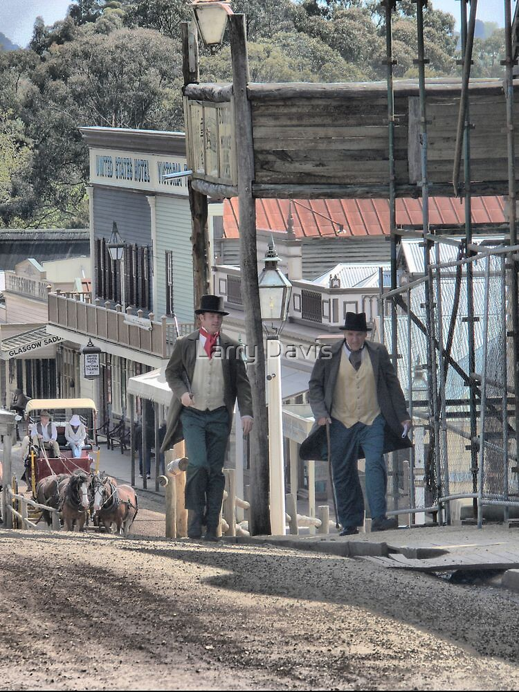 Daily Life at the Diggings by Larry Lingard-Davis