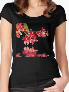 Orchid - 45 Women's Fitted Scoop T-Shirt