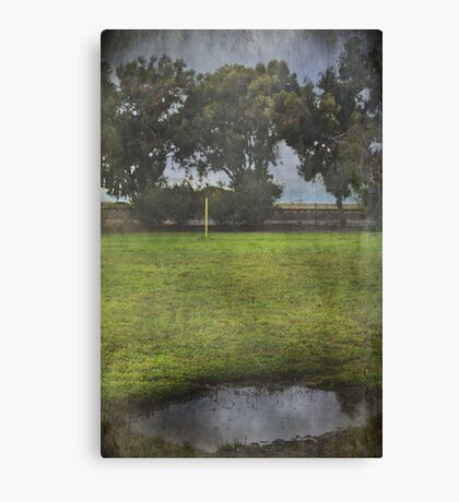 Reduced to a Puddle Canvas Print
