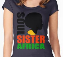 SOUL SISTER-AFRICA Women's Fitted Scoop T-Shirt