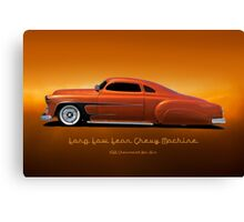 1951 Chevrolet 'Kustom' Bel Air I Canvas Print