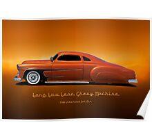 1951 Chevrolet 'Kustom' Bel Air I Poster