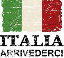 Italy Flag - Vintage Look by Port-Stevens
