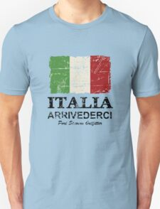 Italy Flag - Vintage Look T-Shirt