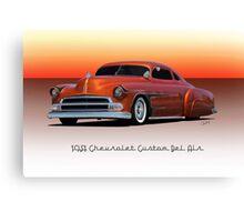 1951 Chevrolet 'Kustom' Bel Air II Canvas Print