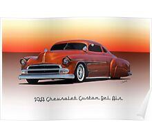 1951 Chevrolet 'Kustom' Bel Air II Poster