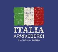 Italy Flag - Vintage Look Unisex T-Shirt