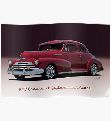 1947 Chevrolet 'Stylemaster' Coupe Poster