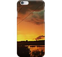 thrill sunset iPhone Case/Skin
