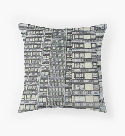 Hanover, Broomhall flats ,Sheffield 3 Throw Pillow