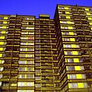 Broomhall flats , Sheffield, Urban pixels by sidfletcher